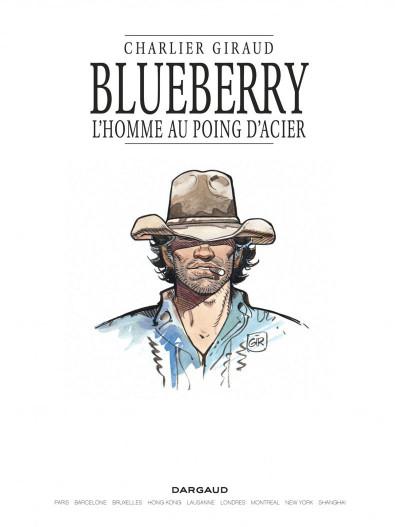 Page 1 Blueberry tome 8 - l'homme au poing d'acier
