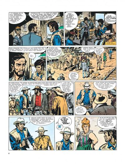 Page 4 Blueberry tome 8 - l'homme au poing d'acier