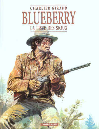 Couverture Blueberry tome 9 - la piste des sioux