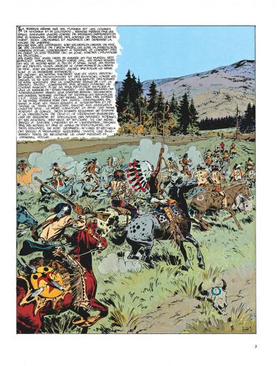 Page 3 Blueberry tome 9 - la piste des sioux