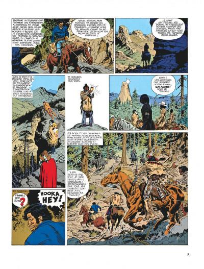 Page 5 Blueberry tome 9 - la piste des sioux
