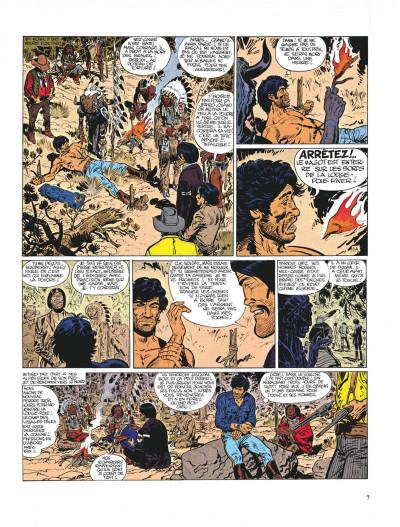 Page 7 Blueberry tome 9 - la piste des sioux