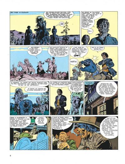 Page 8 Blueberry tome 9 - la piste des sioux