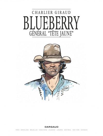 Page 1 Blueberry tome 10 - le général tête jaune