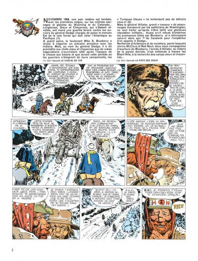 Page 2 Blueberry tome 10 - le général tête jaune