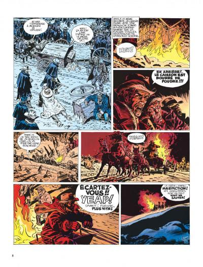Page 8 Blueberry tome 10 - le général tête jaune