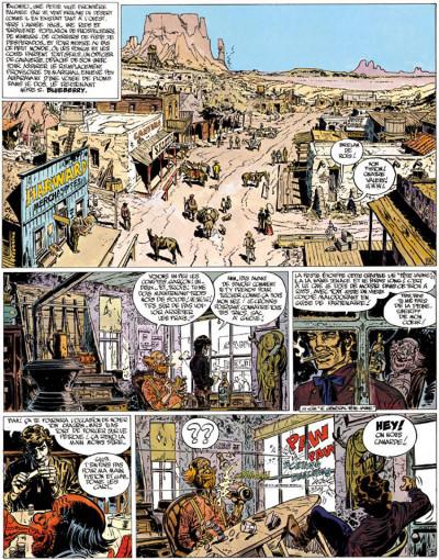 Page 1 Blueberry tome 11 - la mine de l'allemand perdu