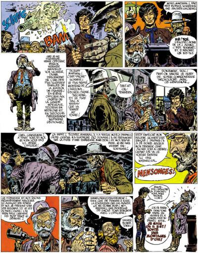 Page 3 Blueberry tome 11 - la mine de l'allemand perdu