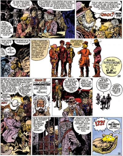 Page 4 Blueberry tome 11 - la mine de l'allemand perdu