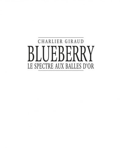 Page 1 Blueberry tome 12 - le sceptre aux balles d'or