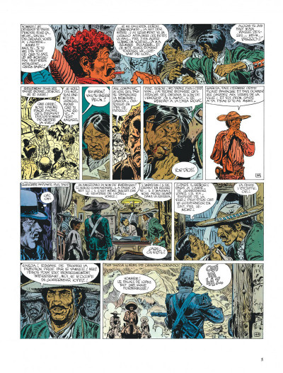 Page 5 Blueberry tome 14 - l'homme qui valait 500 000 dollars