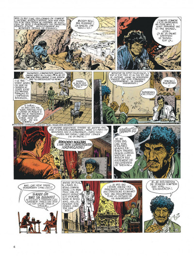 Page 6 Blueberry tome 14 - l'homme qui valait 500 000 dollars