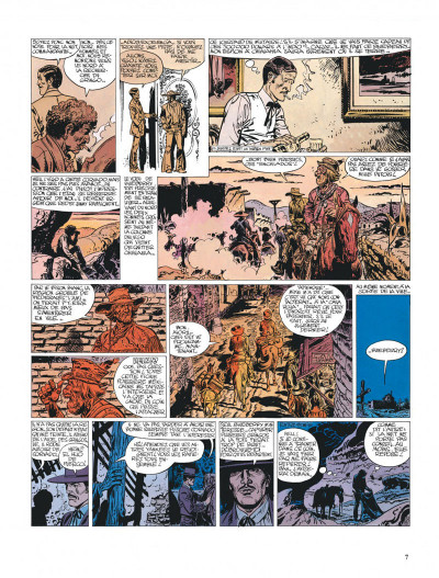 Page 7 Blueberry tome 14 - l'homme qui valait 500 000 dollars