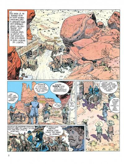 Page 2 Blueberry tome 18 - nez cassé