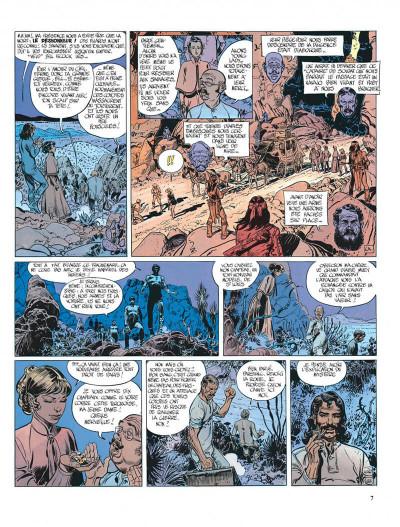 Page 7 Blueberry tome 18 - nez cassé