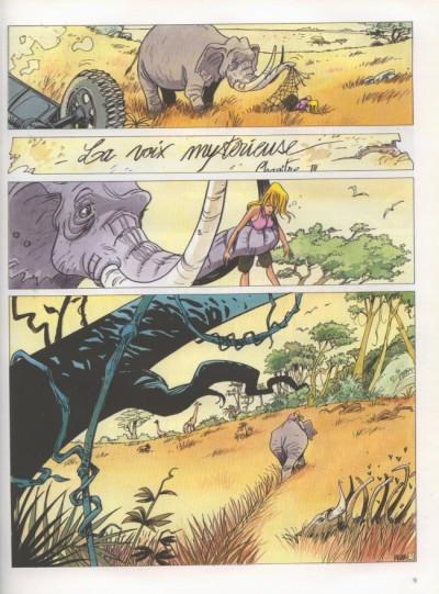 Page 1 Graindazur tome 3 - la voix mystérieuse