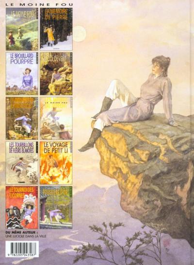 Dos Le moine fou tome 8 - le voyage de petit li