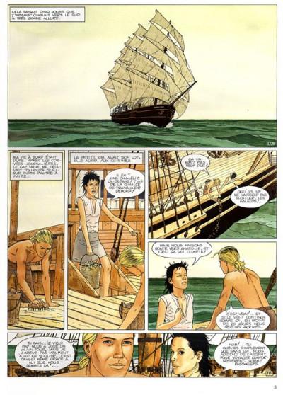 Page 1 Aldébaran tome 2 - la blonde