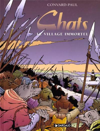 Couverture Chats tome 4 - Le village immortel