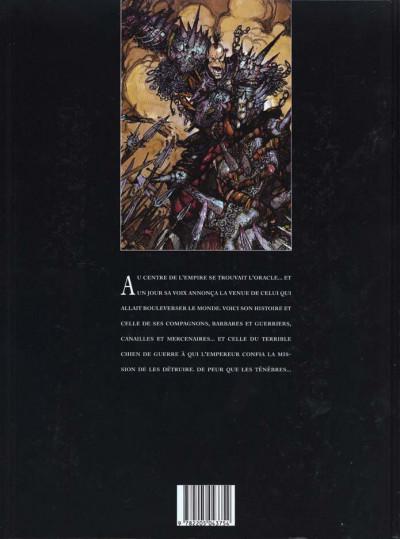 Dos Chroniques de la lune noire tome 1 - le signe des ténèbres