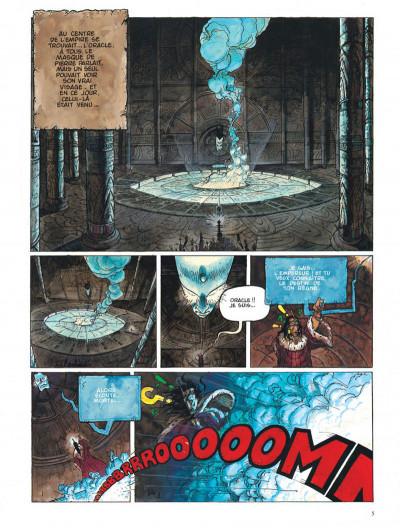 Page 5 Chroniques de la lune noire tome 1 - le signe des ténèbres