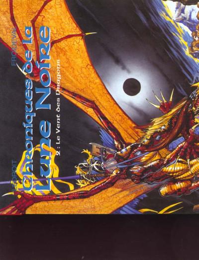 Couverture Chroniques de la lune noire tome 2 - le vent des dragons