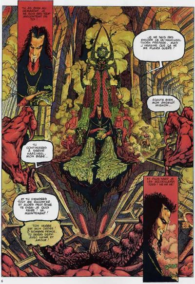 Page 2 Chroniques de la lune noire tome 2 - le vent des dragons