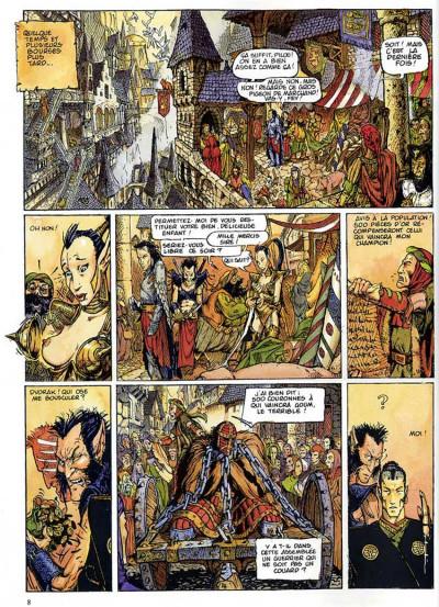 Page 4 Chroniques de la lune noire tome 2 - le vent des dragons