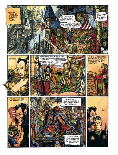 Page 8 Chroniques de la lune noire tome 2 - le vent des dragons