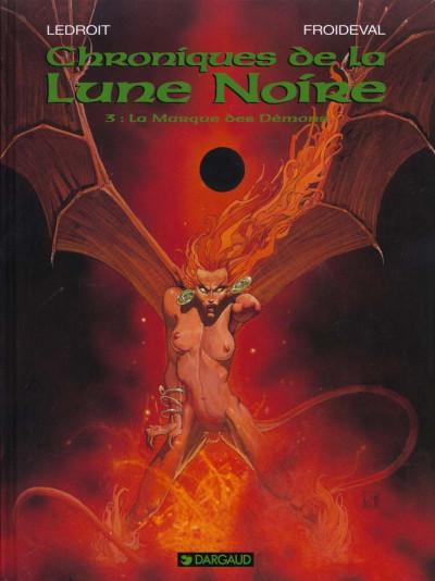 Couverture Chroniques de la lune noire tome 3 - la marque des démons
