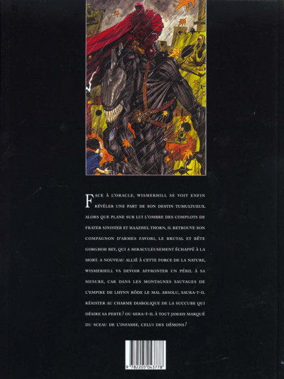Dos Chroniques de la lune noire tome 3 - la marque des démons