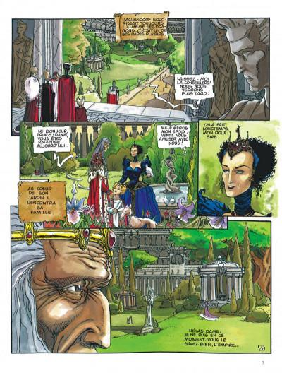 Page 7 Chroniques de la lune noire tome 4 - quand sifflent les serpents
