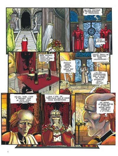 Page 8 Chroniques de la lune noire tome 4 - quand sifflent les serpents
