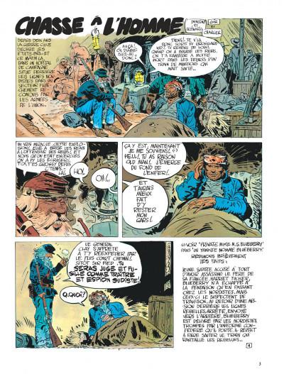 Page 3 La jeunesse de blueberry tome 3