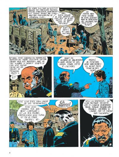 Page 4 La jeunesse de blueberry tome 3