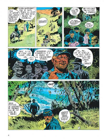Page 6 La jeunesse de blueberry tome 3