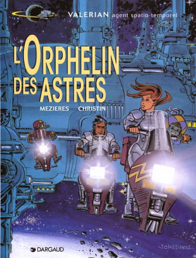 Couverture Valérian tome 17 - l'orphelin des astres