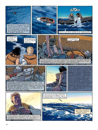 Page 8 Tramp tome 4 - pour hélène