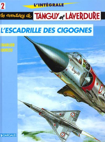 Couverture Tanguy et laverdure - intégrale tome 2