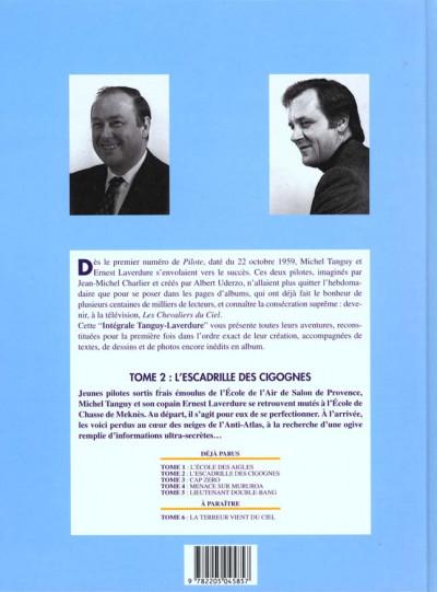 Dos Tanguy et laverdure - intégrale tome 2