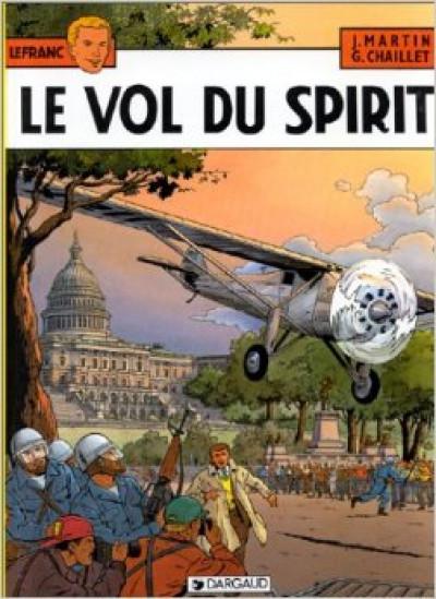 Couverture lefranc tome 12 - le vol du spirit