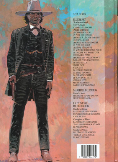 Dos Blueberry tome 25 - ombres sur tombstone