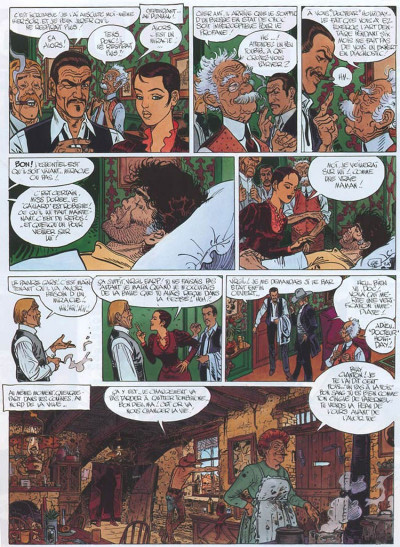Page 2 Blueberry tome 25 - ombres sur tombstone