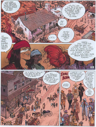Page 4 Blueberry tome 25 - ombres sur tombstone