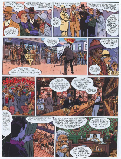 Page 5 Blueberry tome 25 - ombres sur tombstone