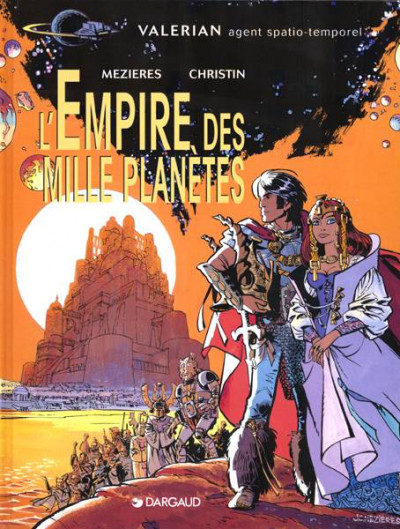 Couverture Valérian tome 2 - l'empire des mille planètes