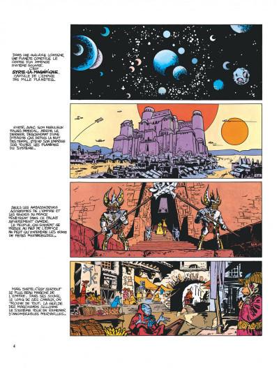 Page 4 Valérian tome 2 - l'empire des mille planètes