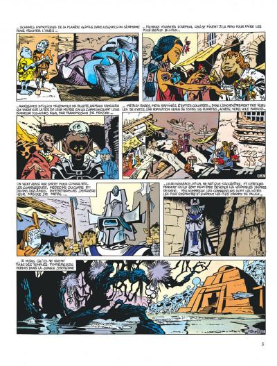 Page 5 Valérian tome 2 - l'empire des mille planètes