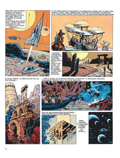 Page 6 Valérian tome 2 - l'empire des mille planètes