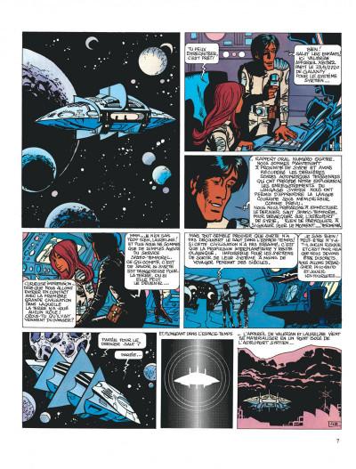 Page 7 Valérian tome 2 - l'empire des mille planètes